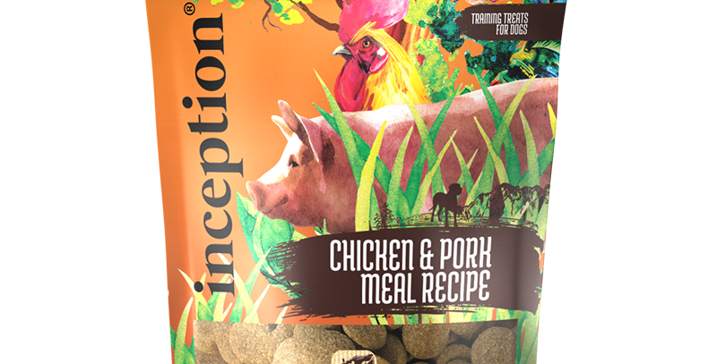 Inception Chicken and Pork Biscuit Treats for Dog 340g