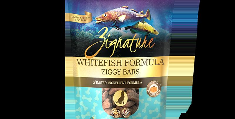 Whitefish Formula Ziggy Bars Treats