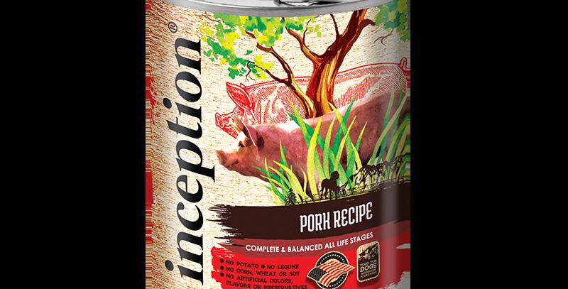 Inception Pork Recipe Dog Canned 369g
