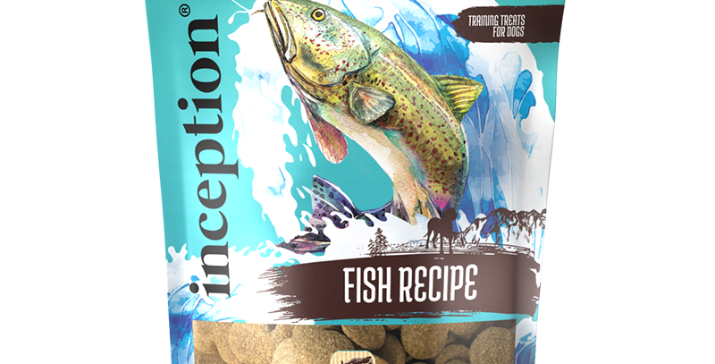 Inception Fish Biscuit Treats for Dog 340g
