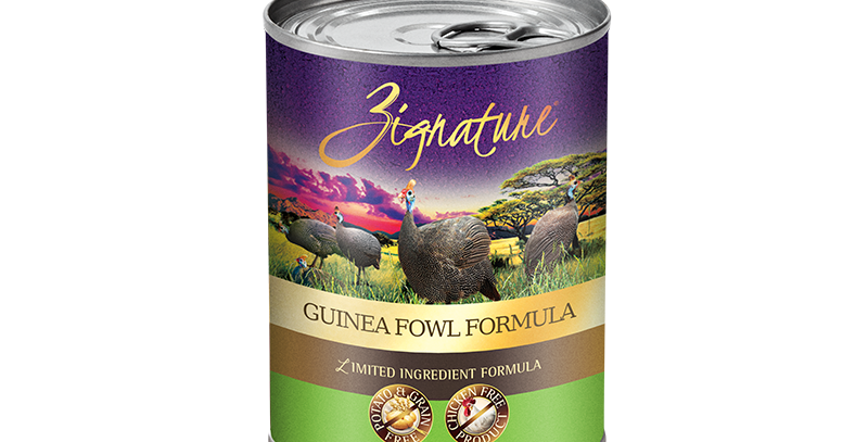 Guinea Fowl Formula Canned Food 369g