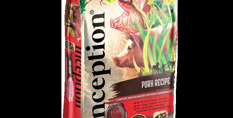 Inception Pork Recipe Dog Food (Dry)