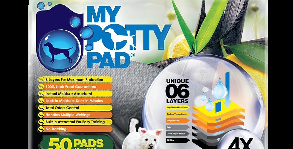 My Potty Pad (Charcoal + Lemon)