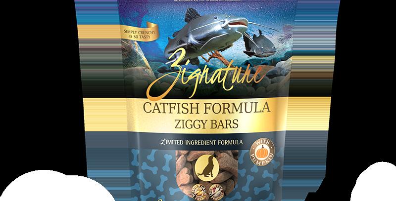 Catfish Formula Ziggy Bars Treats