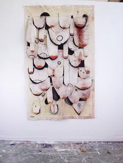 Banana Tapestry
