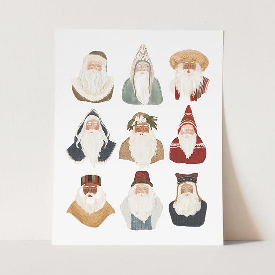 Santas of the World