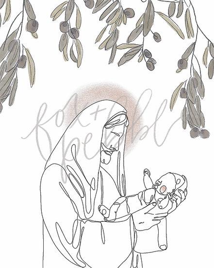 Christ + Little One