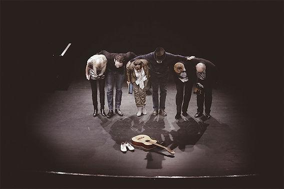 Actors on stage