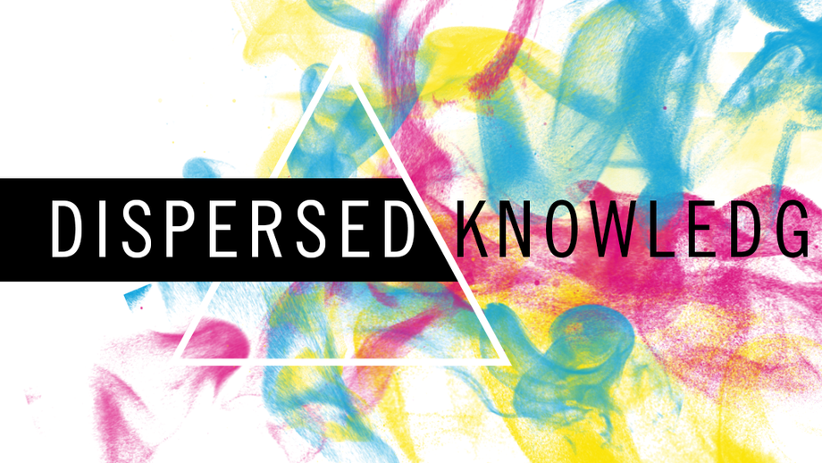 Gamut Warning: A Colorful Approach to Dispersed Knowledge