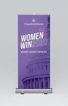 Pop-Up Banner