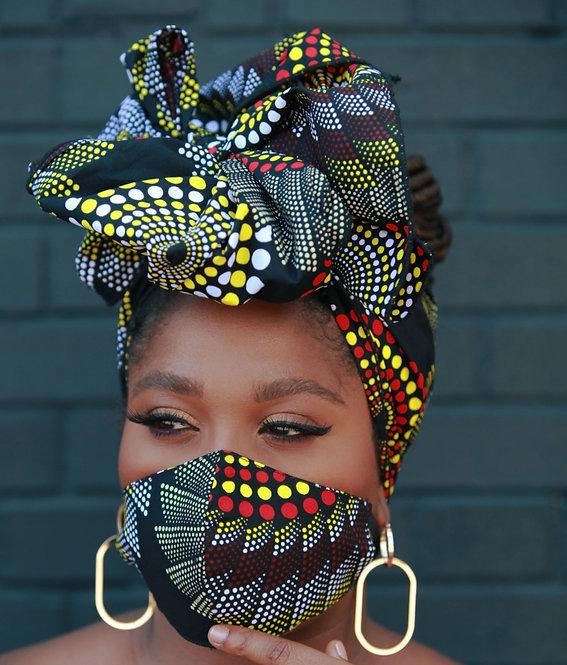 AFRIQ HEADWRAP & FACEMASK