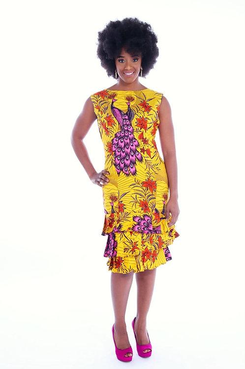 Nicola dress ( yellow )