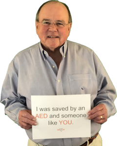 Saved by an Automated External Defibrillator