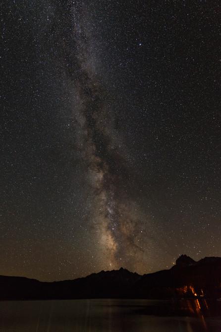 Milky Way at Redfish Lake