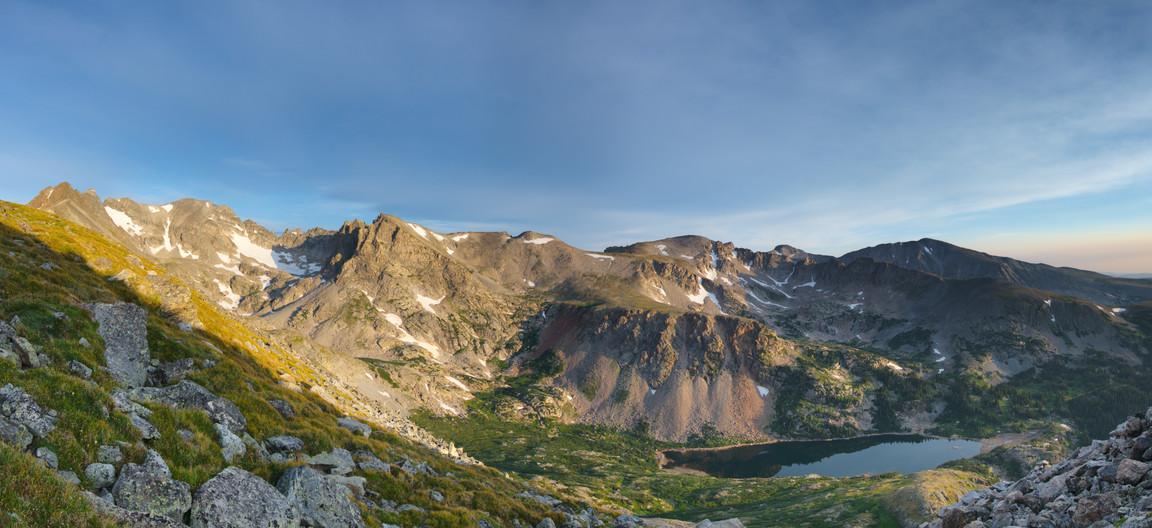 Isabelle Glacier at Sunrise