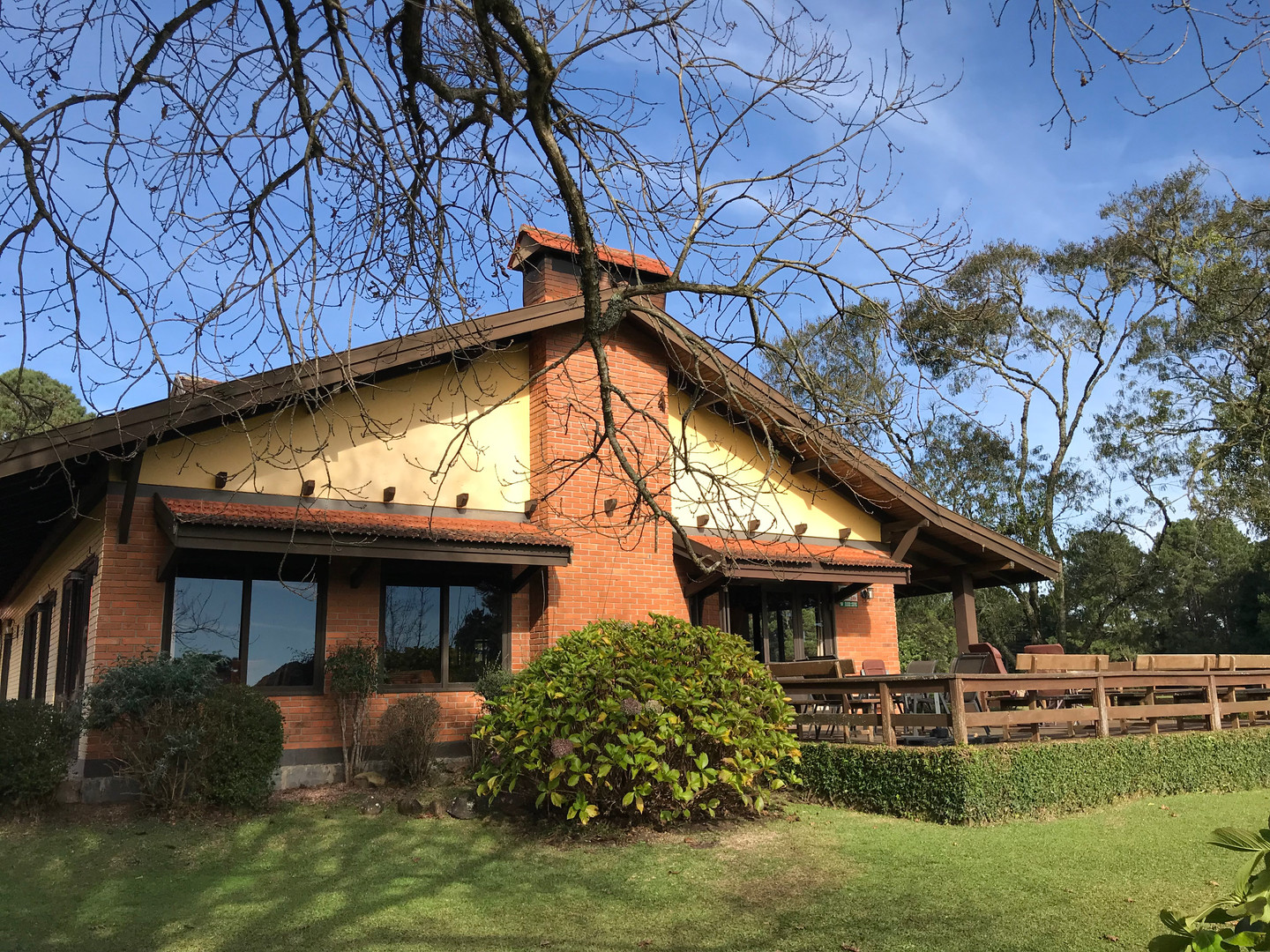 Club House Sede do Gramado Golf Club