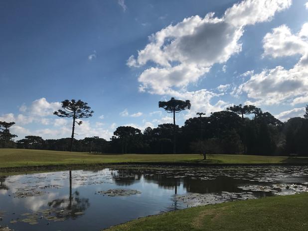 Buraco 1 do Gramado Golf Club
