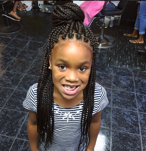 Kids wearing extensions weave whats the big deal natural sew in weaves pmusecretfo Images