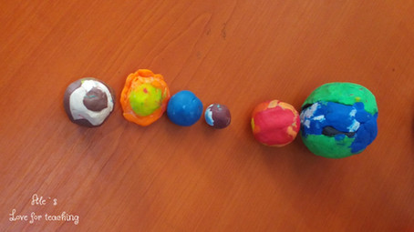 Universul - activități interdisciplinare la clasa I