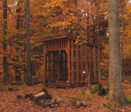 Cabane à bois