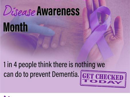 Alzheimers Awareness Month