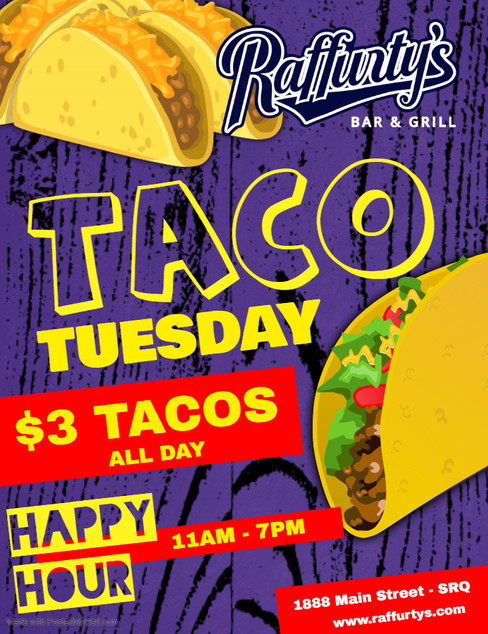 Copy of Taco Tuesday Flyer - Made with P