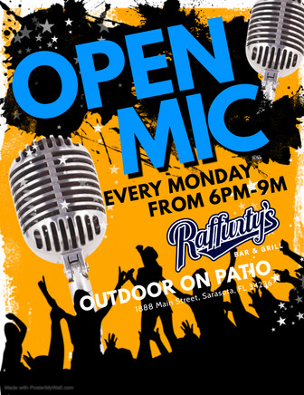 Copy of Open Mic Flyer - Made with Poste
