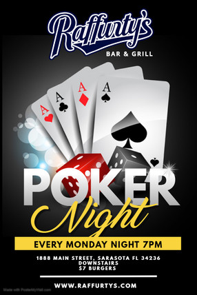 Copy of Poker Tournament Poster - Made w