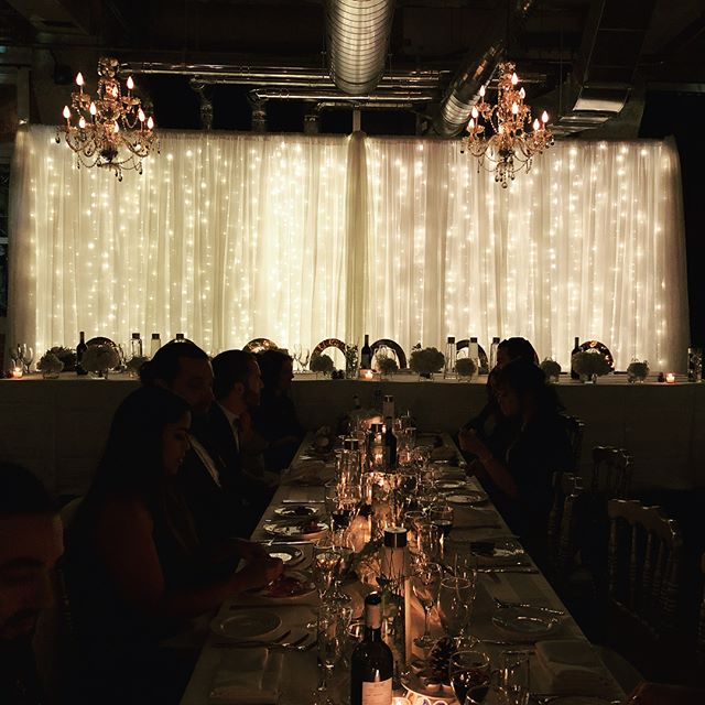 Winter Wonderland Magic 💫 #mtlavecamour #wedding #decor #fairylights