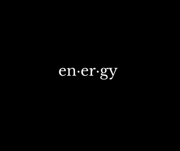 Energy (a poem)