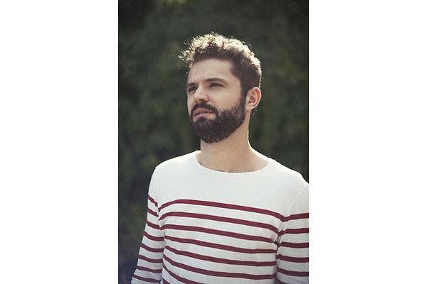 portrait homme photographe vaucluse mariniere barbu