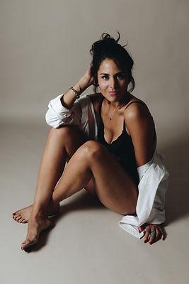 portrait photographe vaucluse boudoir femme