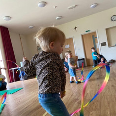twirly ribbon fun