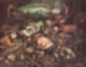 Genesis 7:7 Bau der Arche Noah Jacopo Bassano
