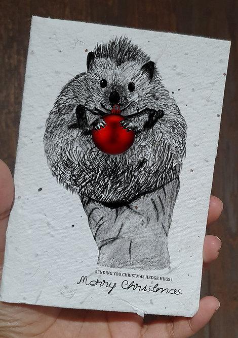 seed embed greeting card