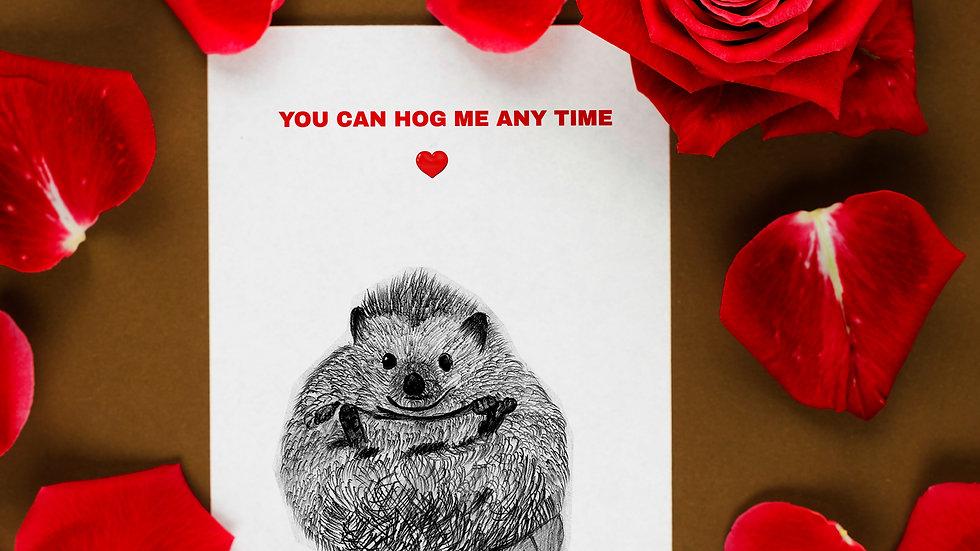 Seed embed plantable greeting card-Hedge-HUG