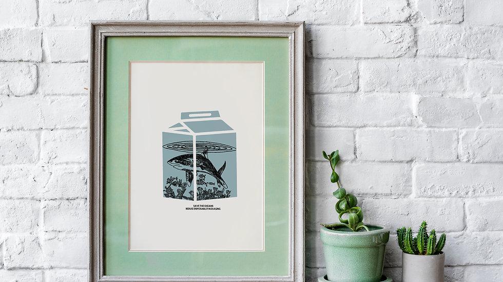 Terrarium-Framed Art