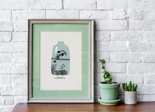 Terrarium-Framed Art