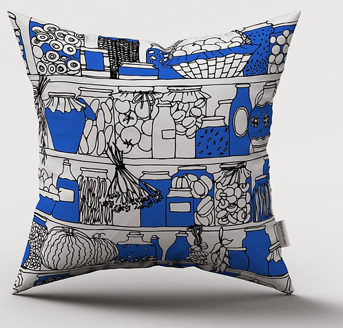 Hand Pulled Screen Printed Cushion