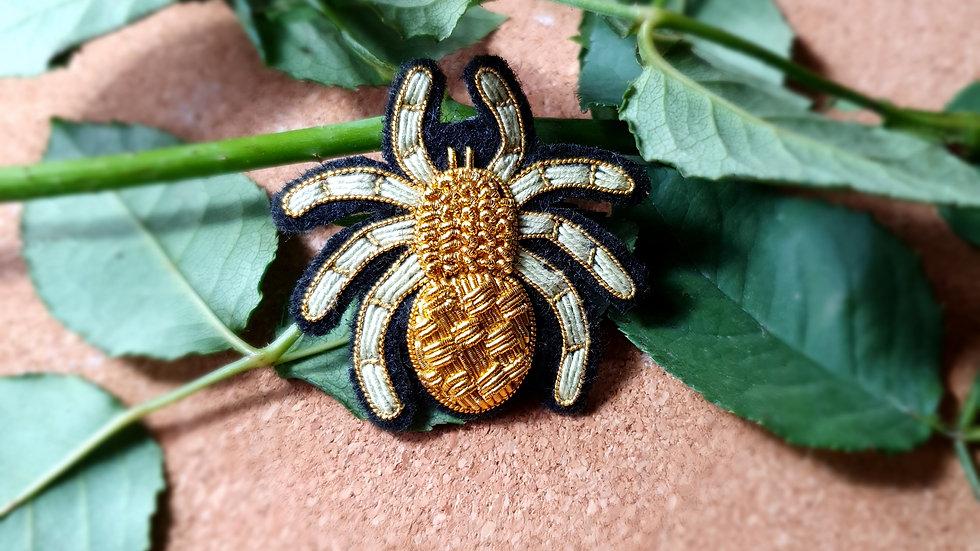 Spider 1  - Gold Work Brooch