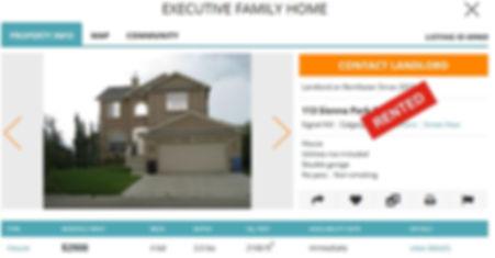 Rented House Calgary