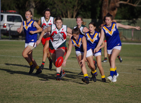 Round 4 Match Report - Jets U18 Girls vs The Basin