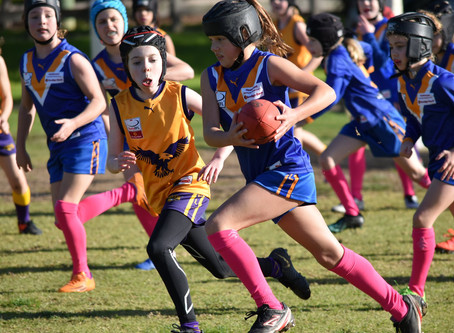 Round 10 Match Report - Jets U10 Girls vs Vermont