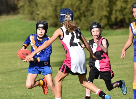 Round 6 - Jets vs Chirnside Park - U10 Girls Match Report