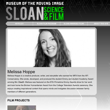 Sloan Science and Film
