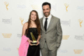 me and reid scott at repeat board with childrens award.jpg