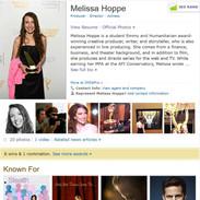 Melissa on IMDb