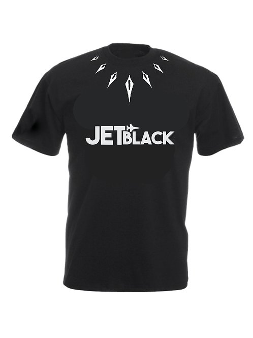 Jet Black Wakanda T-shirt (Black)