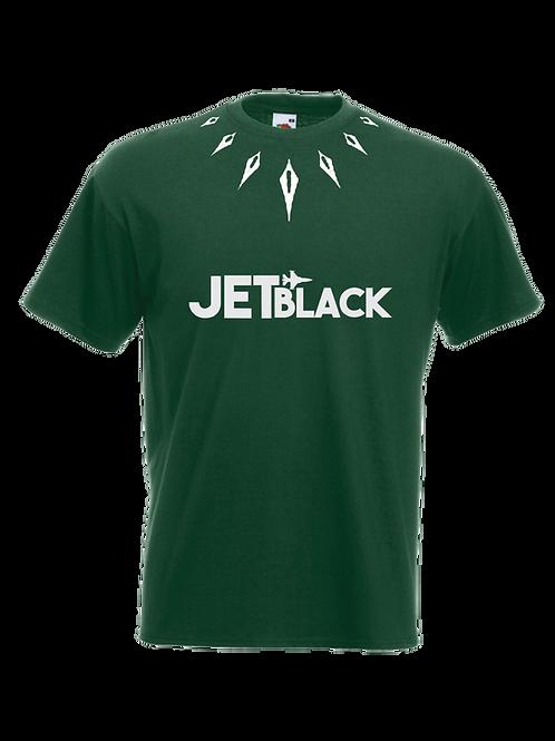 Jet Black Wakanda T-shirt (Green)