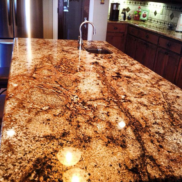 So beautiful #siennabeige #granite